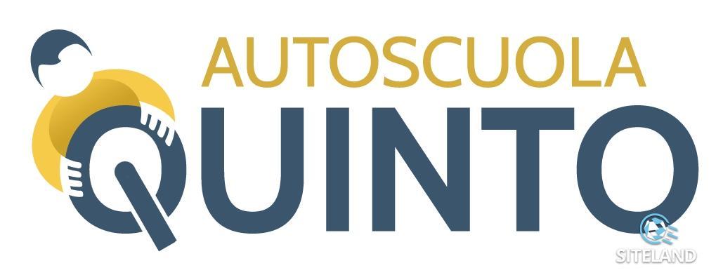Autoscuola quinto sito internet responsivo dell for Logo sito internet